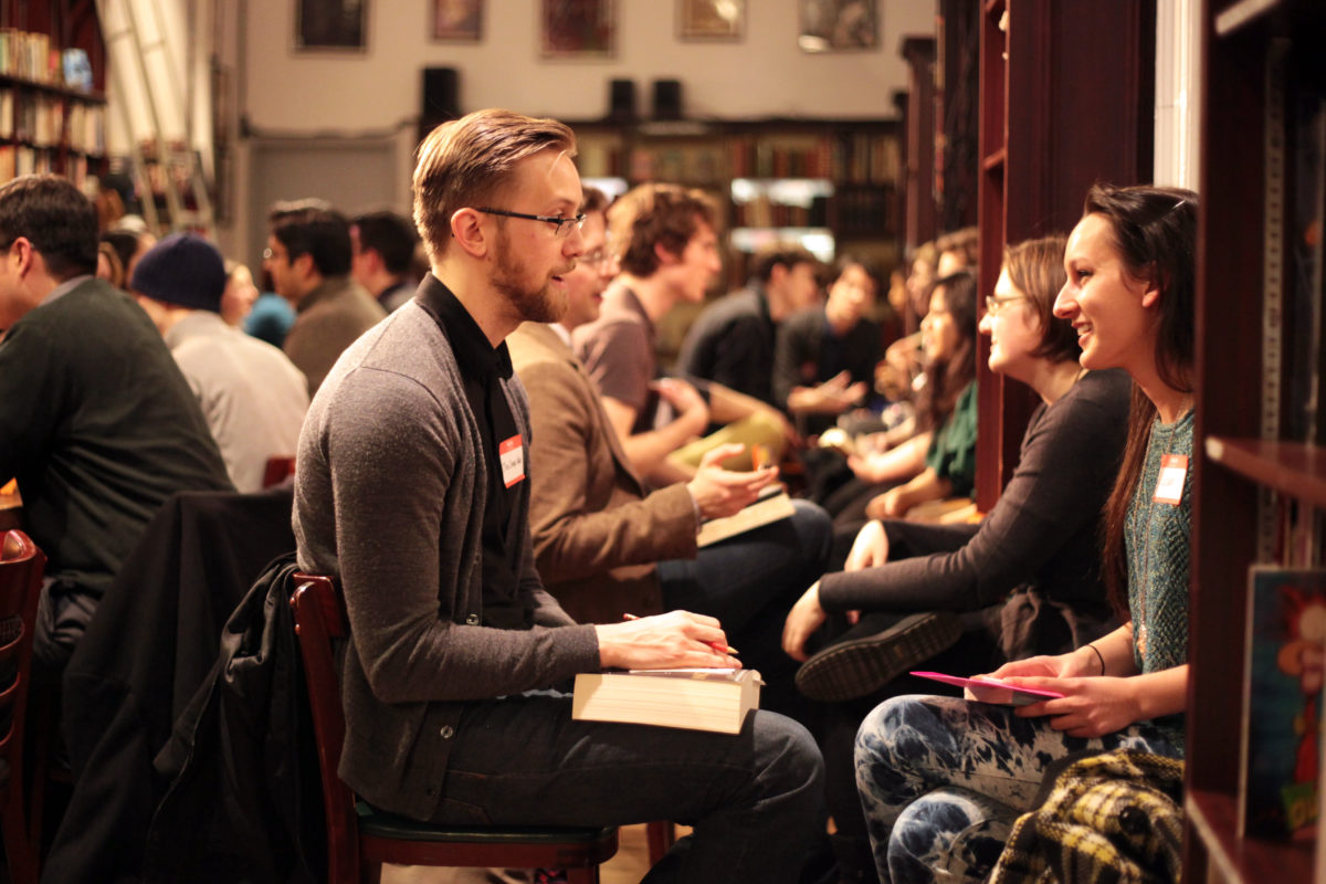 Literary Speed Dating: Reflections, Tips, and All You Need to Know.