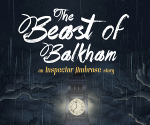 The Beast of Balkham: Updates & a Cover Sneak Peek!